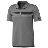 Adidas Heather Blocked Polo Grey 2019