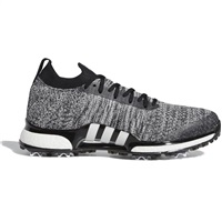 Adidas Tour360 XT Primeknit Shoes Core Black/Cloud White/Silver Metallic
