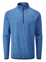 Ping Elden Fleece Golf Top Snorkel Blue Marl