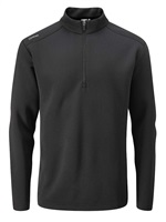 Ping Ramsey Half Zip Fleece Golf Top Black