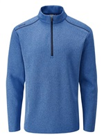 Ping Ramsey Half Zip Fleece Golf Top Snorkel Blue Marl