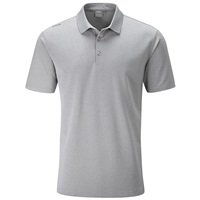 Ping Lincoln Polo Shirt Silver Marl 2019