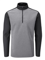 Ping Phaser 1/2 Zip Golf Pullover Asphalt Marl Black 2019