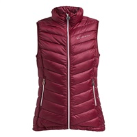 Rohnisch Ladies Light Down Vest Burgundy