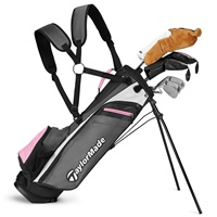 TaylorMade Junior RORY 8+ 52-60 Inch Pink Set 2019