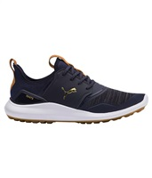 Puma Ignite NXT Lace Golf Shoes Peacoat/Gold/White 2019