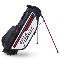 Titleist Players 4 Plus StaDry Golf Stand Bag Black/White/Red 2019