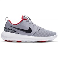 Nike Golf Junior Roshe Shoes Grey/White/Red/Black