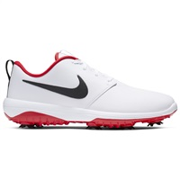 Nike Golf Roshe G Tour Shoes White/University Red 2019