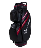 TaylorMade Deluxe Cart Bag Black/Red 2019