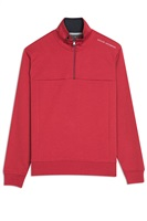 Oscar Jacobson Hawkes Course Half Zip Pullover Red 2019