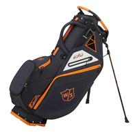 Wilson Staff EXO Stand Bag Black/Black/Orange 2019