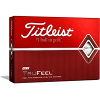 Titleist TruFeel White Golf Balls 1 Dozen White 2019