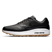 Nike Golf Air Max 1G Golf Shoes Black/Gum Light Brown/Black 2019