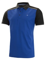 Calvin Klein Golf Radius Polo Shirt Royal/Black 2019