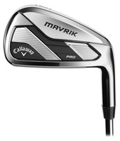 Callaway Mavrik Pro Irons Steel - Custom Fit