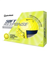 TaylorMade Soft Response Yellow Golf Balls