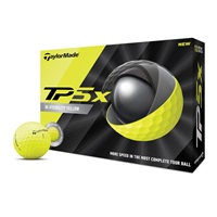 TaylorMade TP5 X Yellow Golf Balls