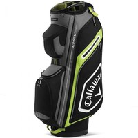 Callaway Chev Cart Bag 14+ Black/Yellow 20