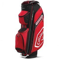 Callaway Chev Cart Bag 14+  Red/Charcoal 2020