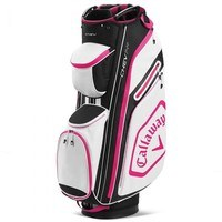 Callaway Chev Cart Bag 14+ Black/Pink 2020