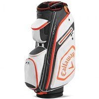 Callaway Chev Cart Bag 14+ White/Charcoal 2020