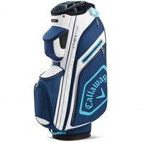 Callaway Chev Cart Bag 14+ White/Navy 2020