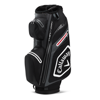 Callaway Chev Dry 14 Cart Bag Black/Charcoal 2020