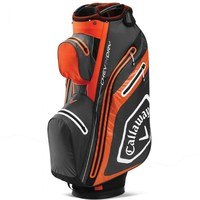 Callaway Chev Dry 14 Cart Bag Charcoal/Orange 2020