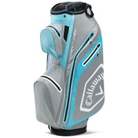 Callaway Chev Dry 14 Cart Bag Light Blue/Silver 2020