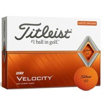 Titleist Velocity Matte Orange 2020 Golf Balls
