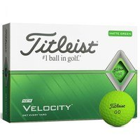 Titleist Velocity Matte Green 2020 Golf Balls