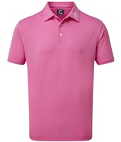 FootJoy Stretch Pique Solid Polo Iced Berry