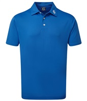 FootJoy Stretch Pique Solid Polo Royal