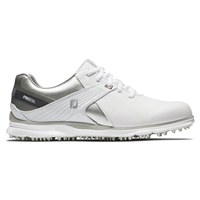 FootJoy Ladies Pro SL Shoes Wide Width White/Silver/Grey