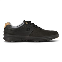 FootJoy Contour Golf Shoes - Black Wide Width