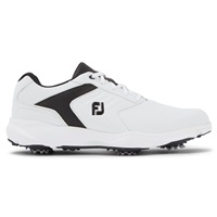 FootJoy eComfort Golf Shoes - White/Black