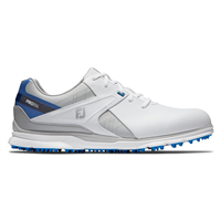 FootJoy Pro SL Golf Shoes - White/Grey/Blue