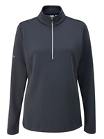 Ping Ladies Lyla Half Zip Fleece Golf Top Navy