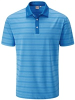 Ping Eugene Golf Polo Shirt Snorkel Blue Multi