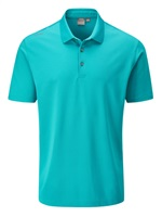 Ping Lincoln Golf Polo Shirt Lake Blue