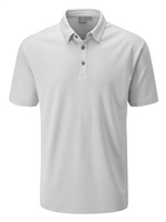 Ping Preston Golf Polo Shirt Silver Multi