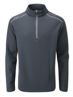 Ping Ramsey Half Zip Fleece Golf Top Navy