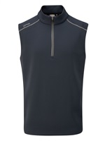 Ping Ramsey Half Zip Fleece Golf Vest Navy