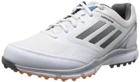 Adidas Mens 2014 Adizero Sport II 2 Street shoe Spikeless Waterproof Golf Shoes White