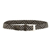 Green Lamb Ladies Desiree Stretch Belt Black/White