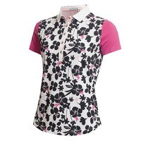 Green Lamb Ladies Edel Printed Polo Butterfly