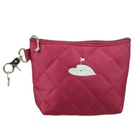Surprize Shop Raspberry Quilted Hand Bag