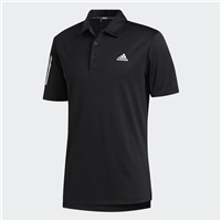 Adidas 3-Stripe Basic Polo Shirt Black/White
