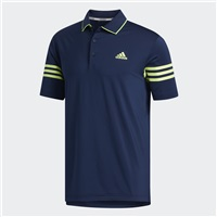 Adidas Ultimate 365 Blocked Polo Collegiate Navy/Solar Yellow